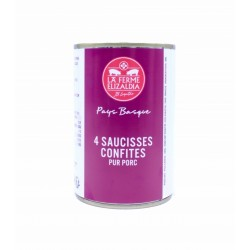Saucisses Confites 330g
