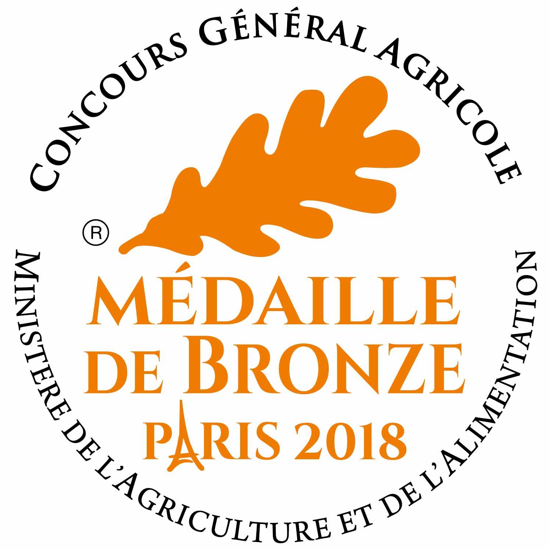 médaille de Bronze Paris 2018 jambon Don'Ibane