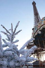 Paris Noel Tour Eiffel