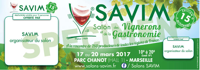 SAVIM Invitation